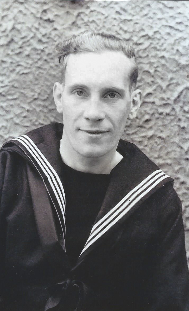 William in navy uniform