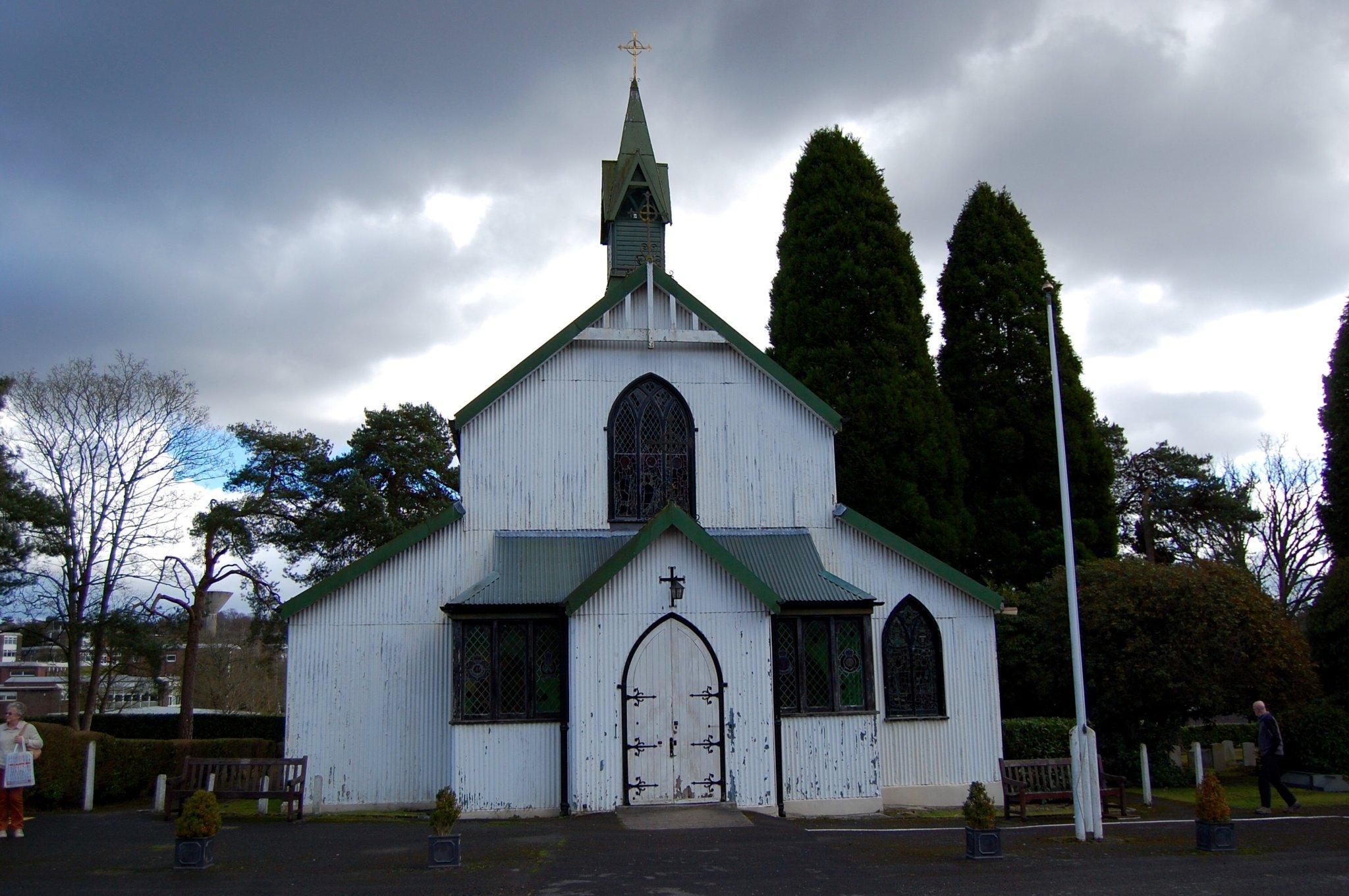 St Barbara's Garrison Church in Deepcut